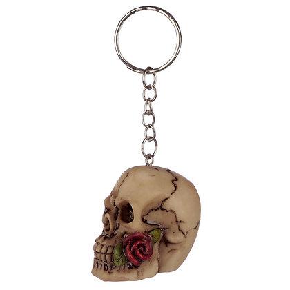 Skull Figure Keyring
