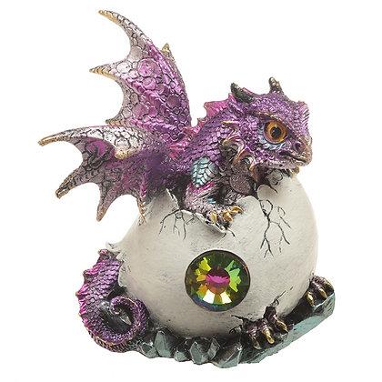 Crystal Birth Dragon Ornament