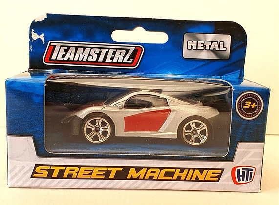 Teamsterz Street Machine Sports Car - Silver