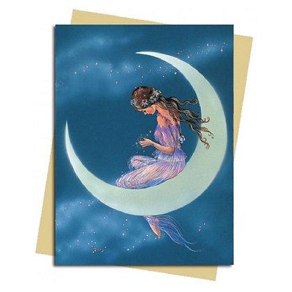 Moon Maiden Greeting Card