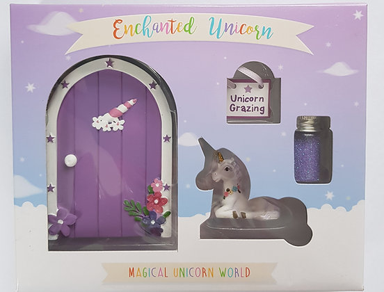 Unicorn Door Glitter Set