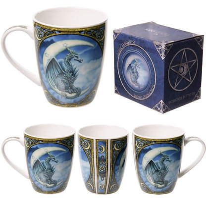 Dragon Design Bone China Mug (Lisa Parker)