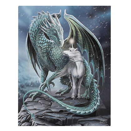Protector of Magick Dragon & Unicorn - Lisa Parker Canvas