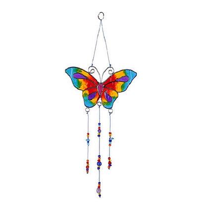 Butterfly Sun Catcher (Multi Coloured)