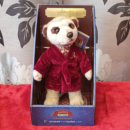 Compare The Market Aleksandr Meerkat Soft Toy in Box