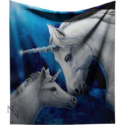 Sacred Love Unicorn Throw 160cm - Lisa Parker