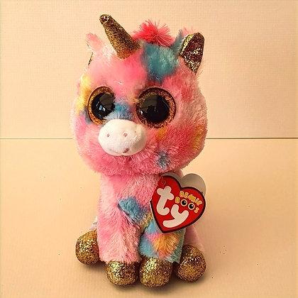 TY Beanie Boo Soft Toy - Fantasia the Unicorn 17cm