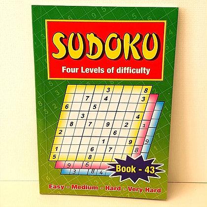 A5 Sudoku Puzzle Book No.43
