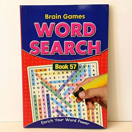 A5 Word Search Puzzle Book No. 57