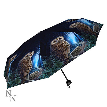 Way of the Witch Owl - Lisa Parker Umbrella