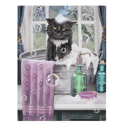 Bath Time Cat - Lisa Parker Canvas