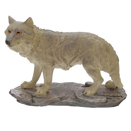 Protector of The North Moonlight Protector Wolf Ornament - 14cm