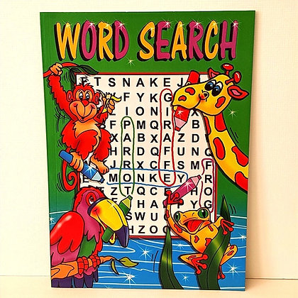 A4 Junior Word Search Puzzle Book