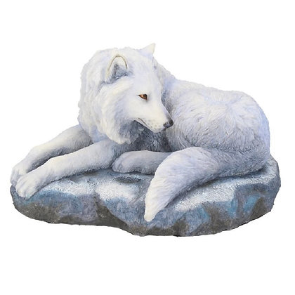 Guardian of the North Wolf Ornament 19.5cm - Lisa Parker