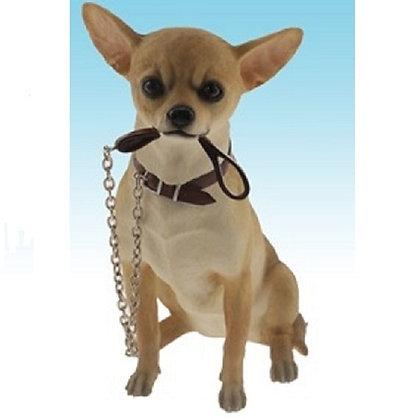 Leonardo Walkies Chihuahua Dog Ornament