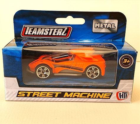 Teamsterz Street Machine Sporty Car - Bright Orange