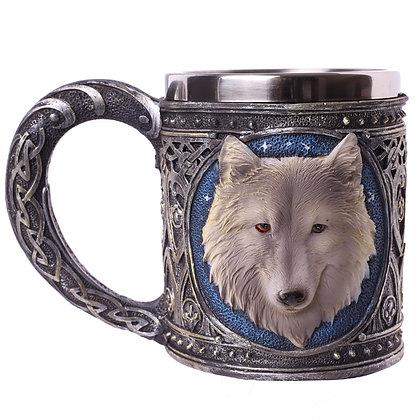 Wolf Head Tankard