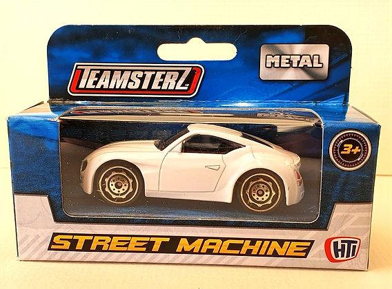 Teamsterz Street Machine Sporty Car - White