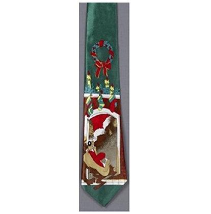 Christmas Musical Tie (Tasmanian Devil)