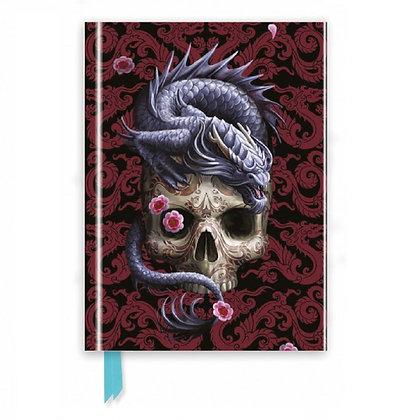 Oriental Dragon Embossed Journal - Anne Stokes