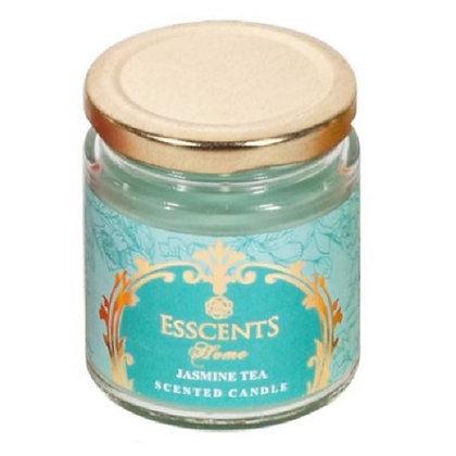 Jasmine Tea Candle in a Glass Jar