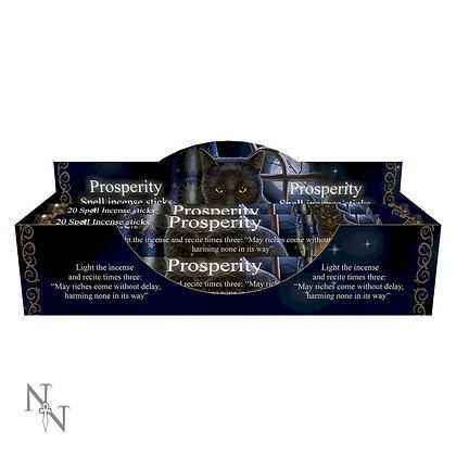 20 Prosperity Spell Jasmine Incense Sticks - Lisa Parker