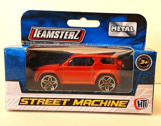 Teamsterz Street Machine Car - Red