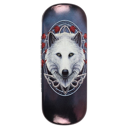 Guardian of the Fall Wolf - Lisa Parker Glasses Case