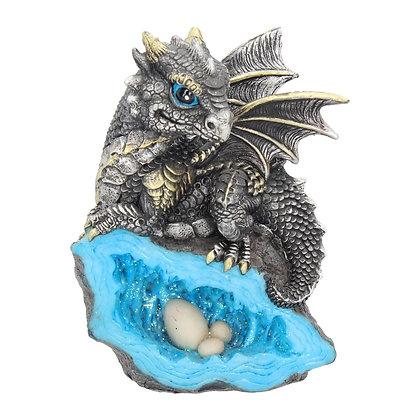 Nest Guardian Dragon Ornament - 13cm