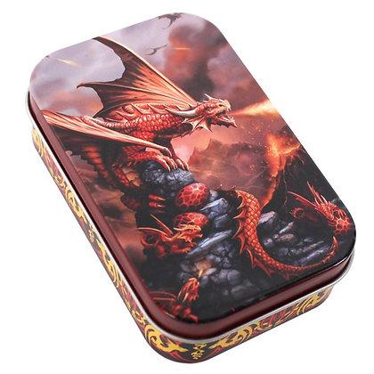 Fire Dragon Storage Tin (Anne Stokes)