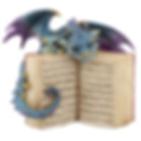 Dragon with Book