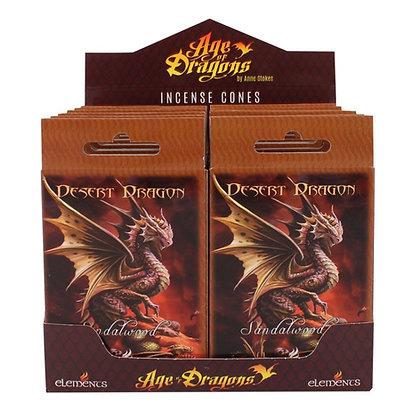 15 Desert Dragon Incense Cones (Anne Stokes)