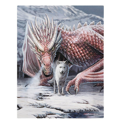 Alliance Dragon and Wolf - Lisa Parker Canvas