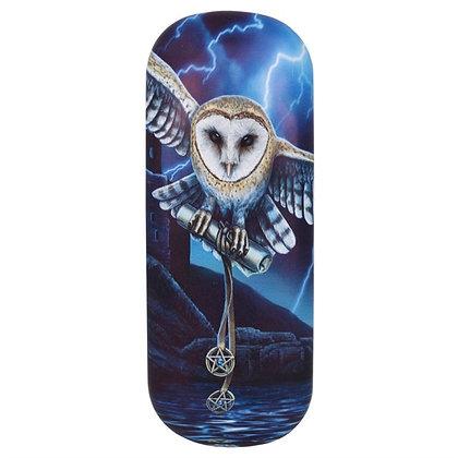 Heart of The Storm Owl - Lisa Parker Glasses Case