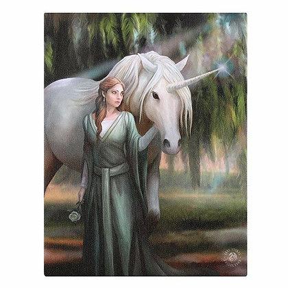 Everglade Unicorn - Anne Stokes Canvas