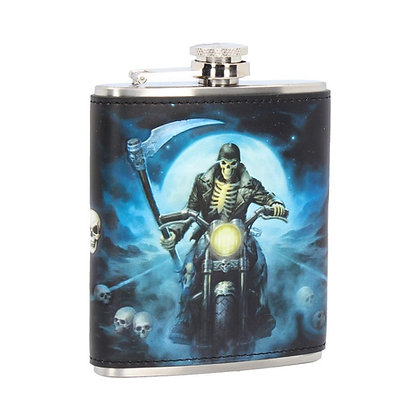 Hell Rider Reaper Hip Flask (James Ryman)