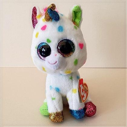 TY Beanie Boo Soft Toy - Harmonie the Unicorn 17cm