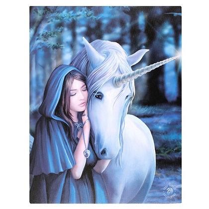 Solace Unicorn - Anne Stokes Canvas