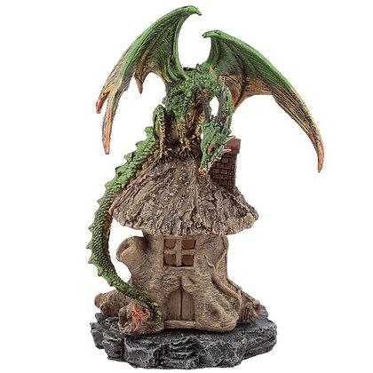 Dark Legends Green Dragon Forest Dweller Incense Holder