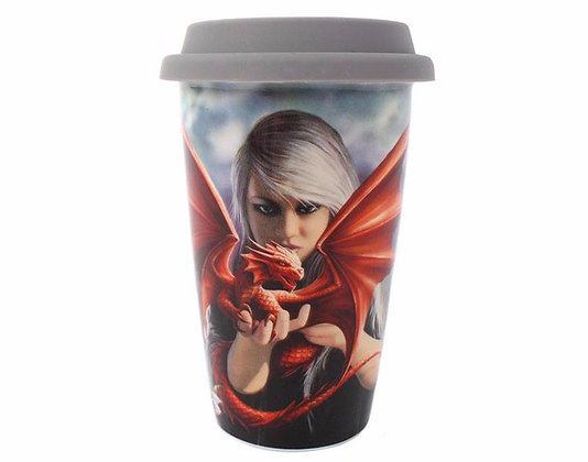 Dragon Kin Travel Mug (Anne Stokes)