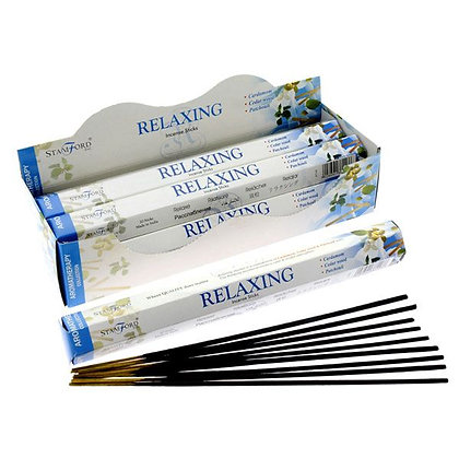 20 Stamford Hex Aromatherapy Incense Sticks - Relaxing