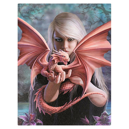 Dragon Kin - Anne Stokes Canvas