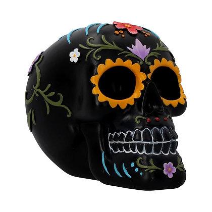 Floral Festivities Skull Ornament - 15.2cm