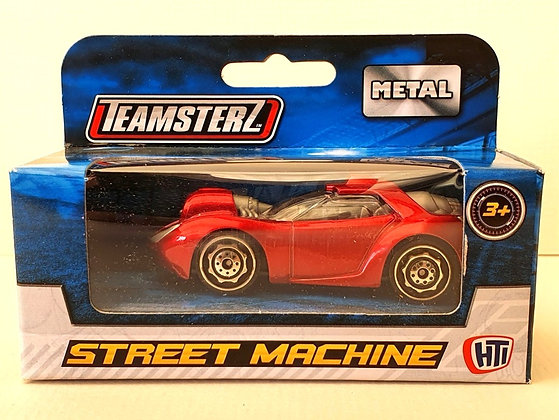 Teamsterz Street Machine Sporty Car - Metallic Red