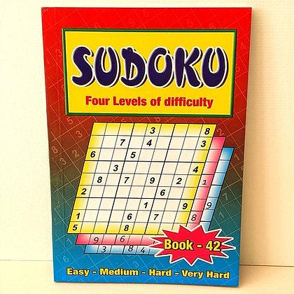 A5 Sudoku Puzzle Book No.42