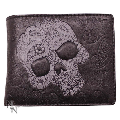 Abstract Skull Wallet - 11cm
