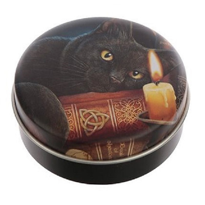 Magical Cat Lip Balm in a Tin (Witching Hour) - Lisa Parker
