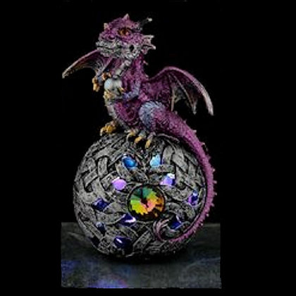 Dragon Figure Orb with LED