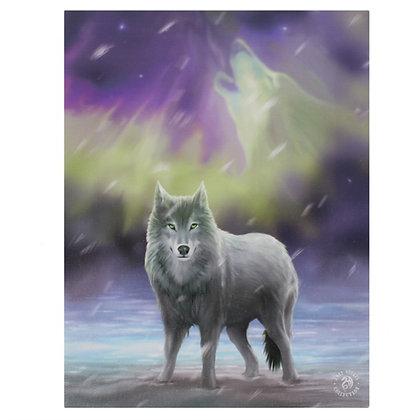 Aurora Wolf - Anne Stokes Canvas