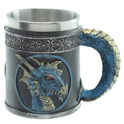 Blue Dragon Tankard